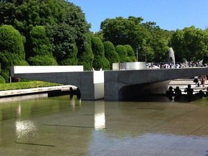 Hiroshima Peace Park, Eternal Flame of Peace