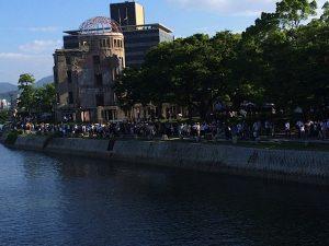 Hiroshima Peace Memorial Ceremony-